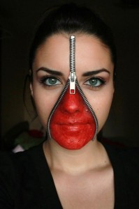 zipper-face