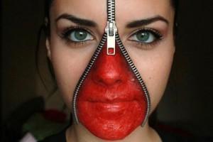 zipper-face