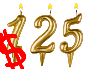 Win $125 and $1475 for a charity! Via Shutterstock