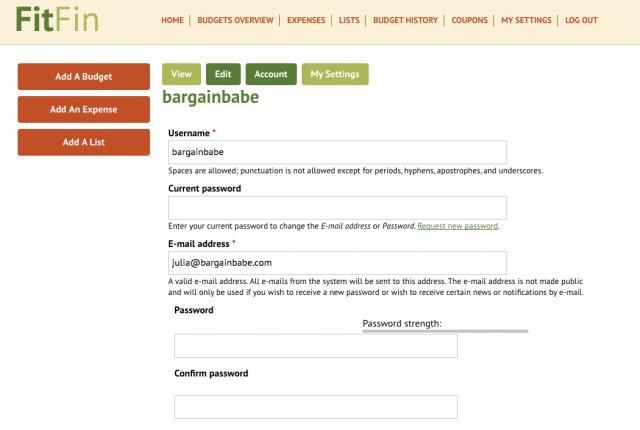FitFin Register
