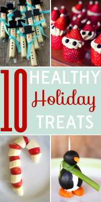 It's December: are your pants already feeling tight? These 10 healthy holiday treats will please both kids and kids alike!