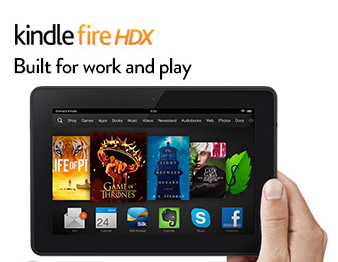 TODAY ONLY! Refurbished Kindle Fire HDX Only $119 (Reg. $149!)