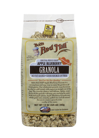 Four Bob's Red Mill Apple Blueberry Granola 12-oz Bags Only $10.60 & FREE Shipping (Just $2.65 Per Bag!)