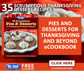 FREE Thanksgiving Recipe eCookbook!