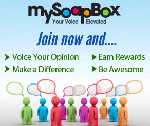 MySoapBox: Share Your Opinion for Prizes and Gift Cards!