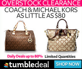 TumbleDeal: 80% off Fashion, Home Goods, Electronics and More!