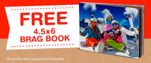 Score a FREE photo brag book today!