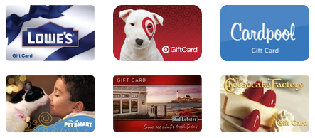 Gift Cards 35% Off!