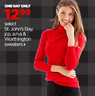 JC Penney Deals TODAY ONLY!