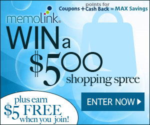 Win a $500 Shopping Spree from Memolink!