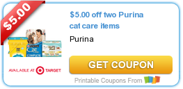 Coupons: Gerber, Purina, Crest and More!
