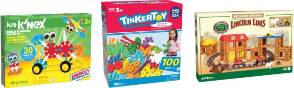 TODAY ONLY! 50% Off Select K'NEX Building Toys – Prices Start at $8.99!