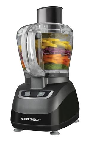 HOT! Black & Decker 8-Cup Food Processor Only $24.99 (Reg. $49.99!)