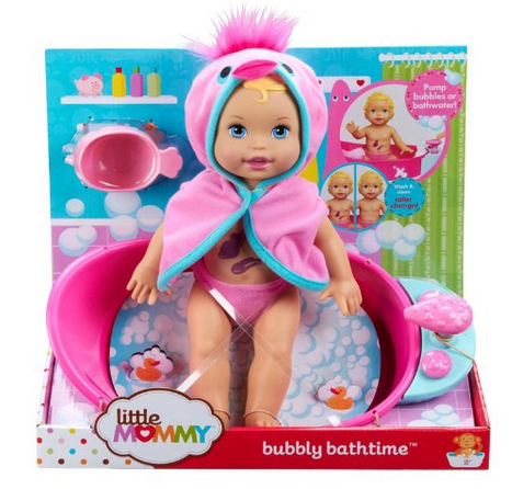 Little Mommy Bubbly Bathtime Doll Only $7.97 (Reg. $21.99!) + Great Deal on Gerber!