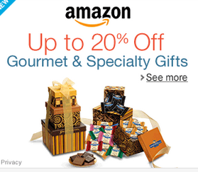 20% off Gourmet Gifts on Amazon!