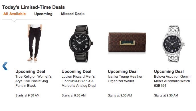 Amazon Lightning Deals – Vince Camuto, True Religion, Conair and More!