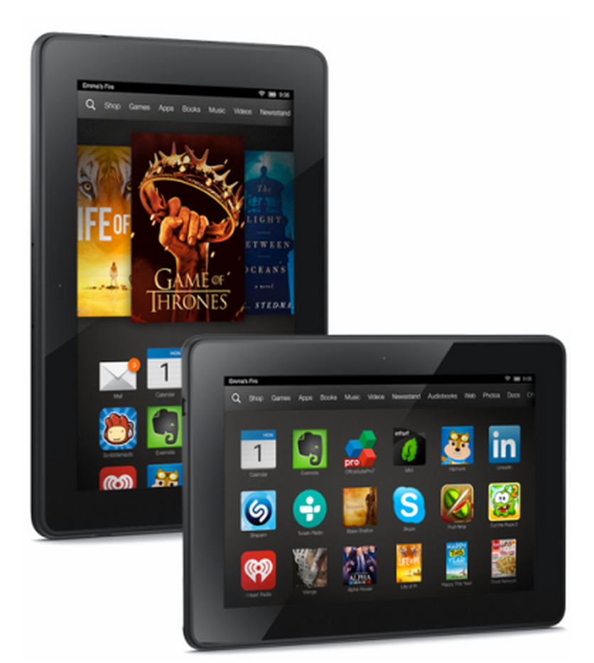 50% Off Kindle Fire HDX Wi-Fi 4G LTE Tablets – Prices Start at $139 (Reg. up to $339!)