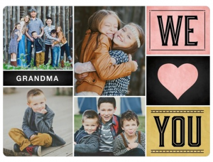 Snag FREE personalized photo gifts from Tiny Prints today!