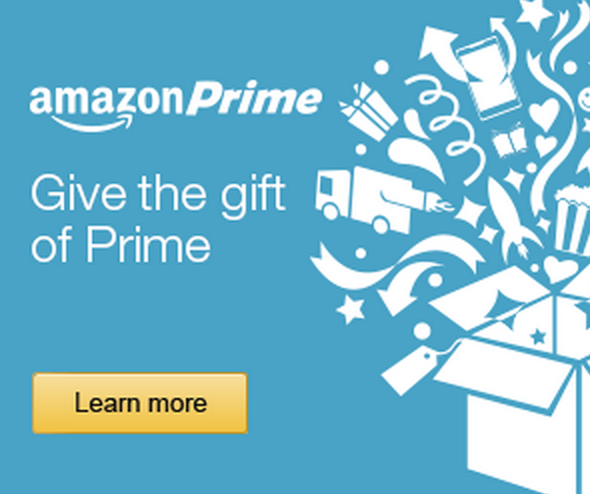 Amazon Prime – The Perfect Christmas Gift!