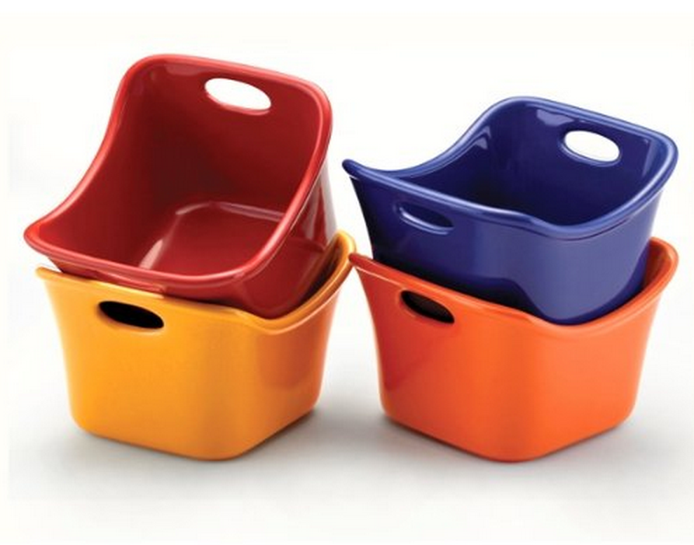 Set of 4 Rachael Ray Stoneware Ramekins Only $14.99 (Reg. $19.99!)