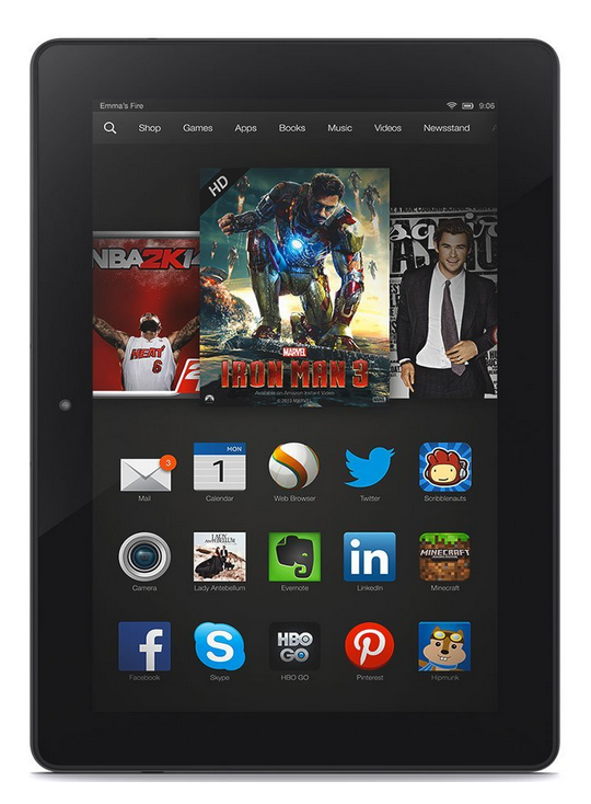 TODAY ONLY! $125 Off Kindle Fire HDX 8.9 Tablets!