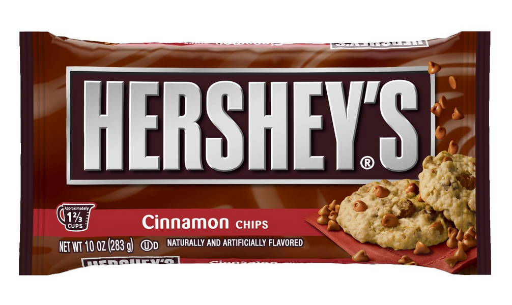 6-Count Hershey's Cinnamon Baking Chips 10 Oz. Bags Only $1.32 Each Shipped!