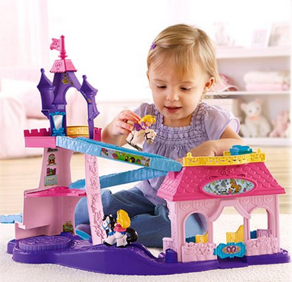 Fisher-Price Little People Disney Princess Klip Klop Stable Only $19.99 – Lowest Price!