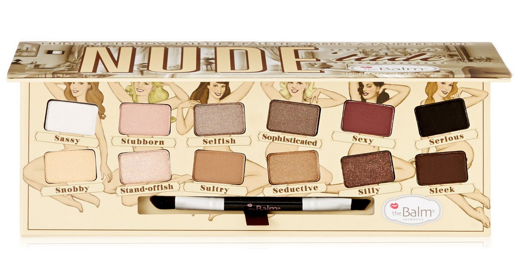 Highly Rated NUDE 'tude  Eyeshadow Palette Only $28.38 (Reg. $36!)