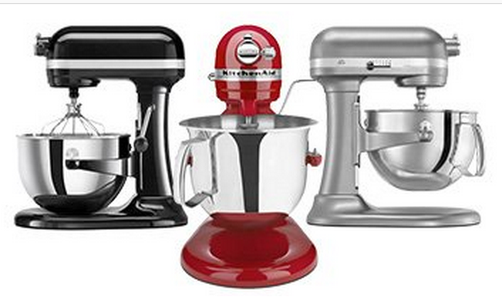 TODAY ONLY! 50% Off Select KitchenAid Items = KitchenAid Stand Mixers Only $179 (Reg. $299!)