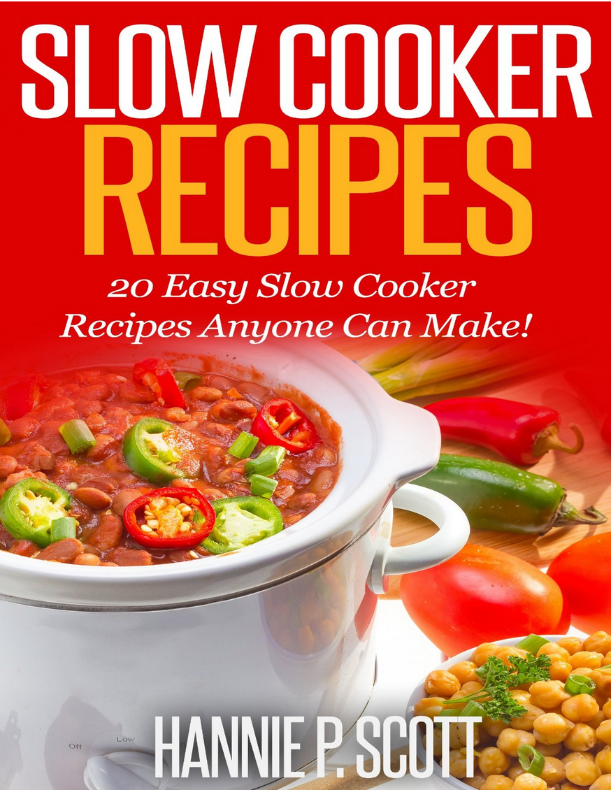 Free Ebooks: Cleaning Hacks, The Slow Cooker Cookbook, and More!