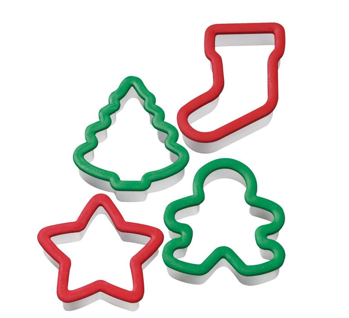Wilton Holiday Grippy Cookie Cutters (Set of 4) for only $4.49 + More!