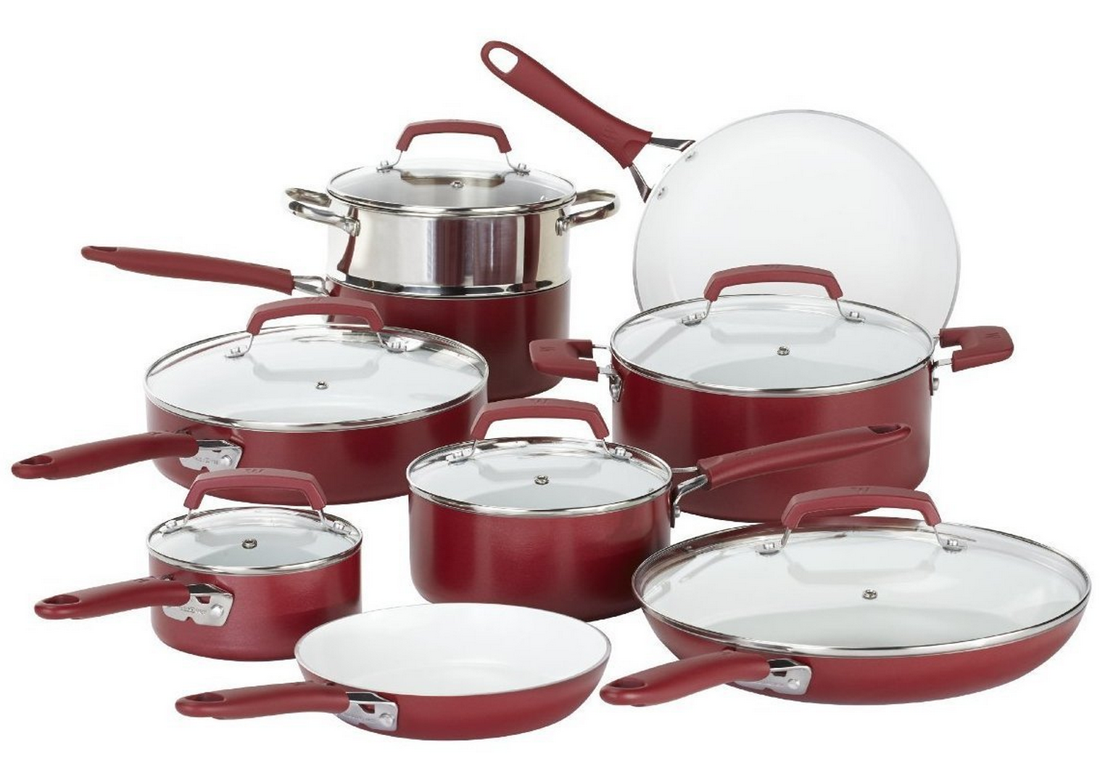 Amazon Lightning Deal: WearEver 15 Piece Cookware Set Only $73.99 + FREE One Day Shipping!