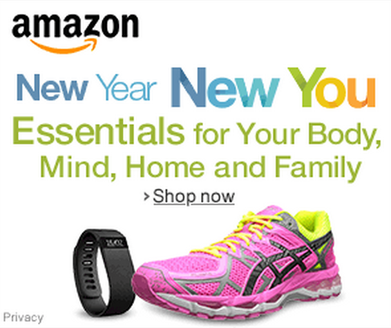 Amazon's New Year, New You Event – BIG Deals on Cooking Tools, Workout Wear, Books and More!