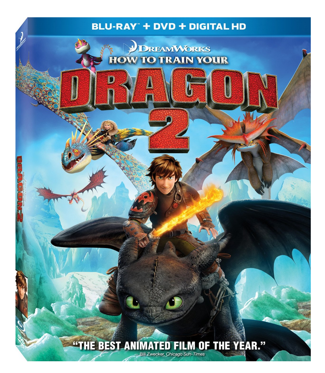 How To Train Your Dragon 2 on Blu-ray + DVD + Digital HD Only $9.99!