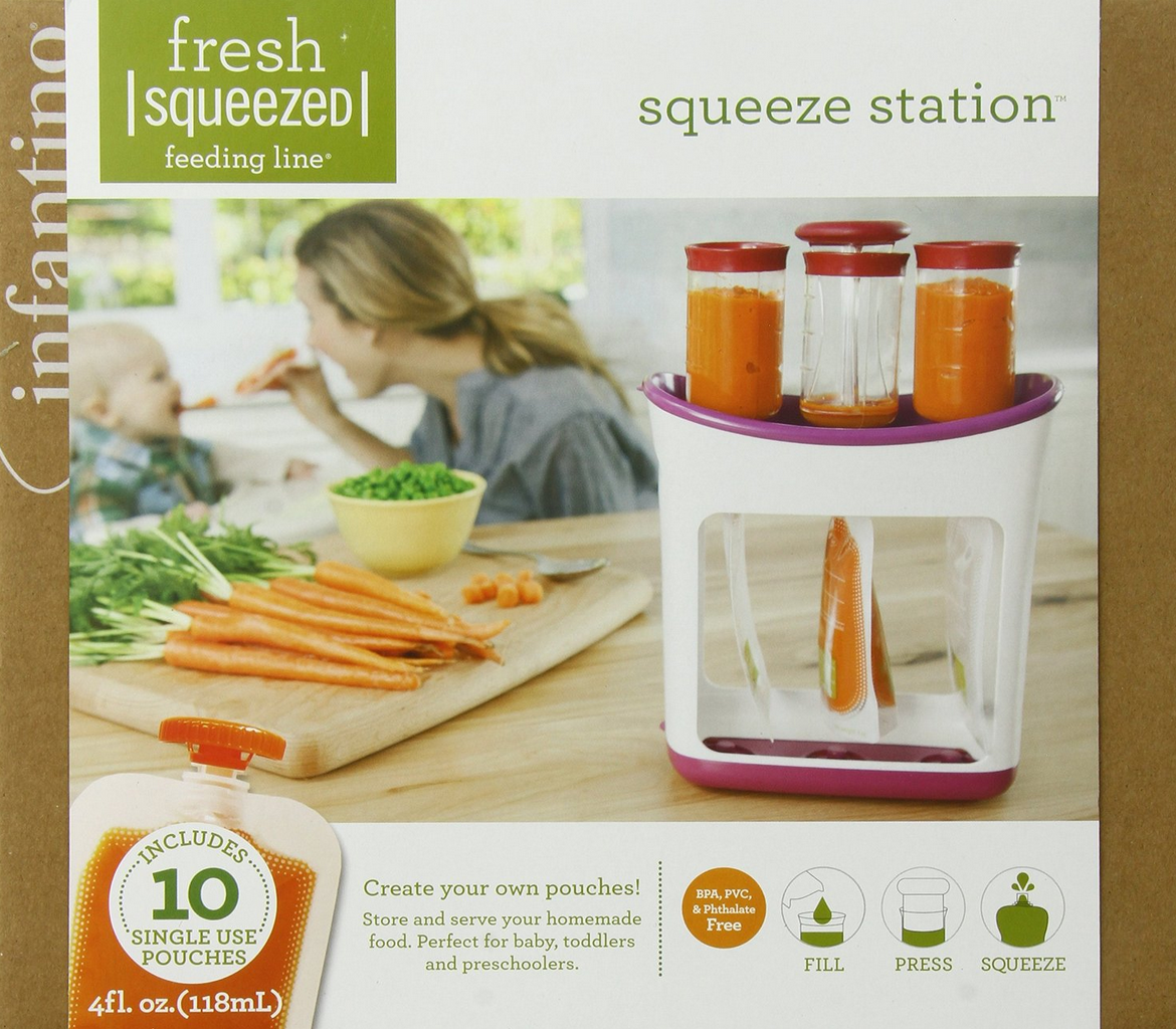 Infantino Squeeze Station Only $15.99 – Lowest Price!