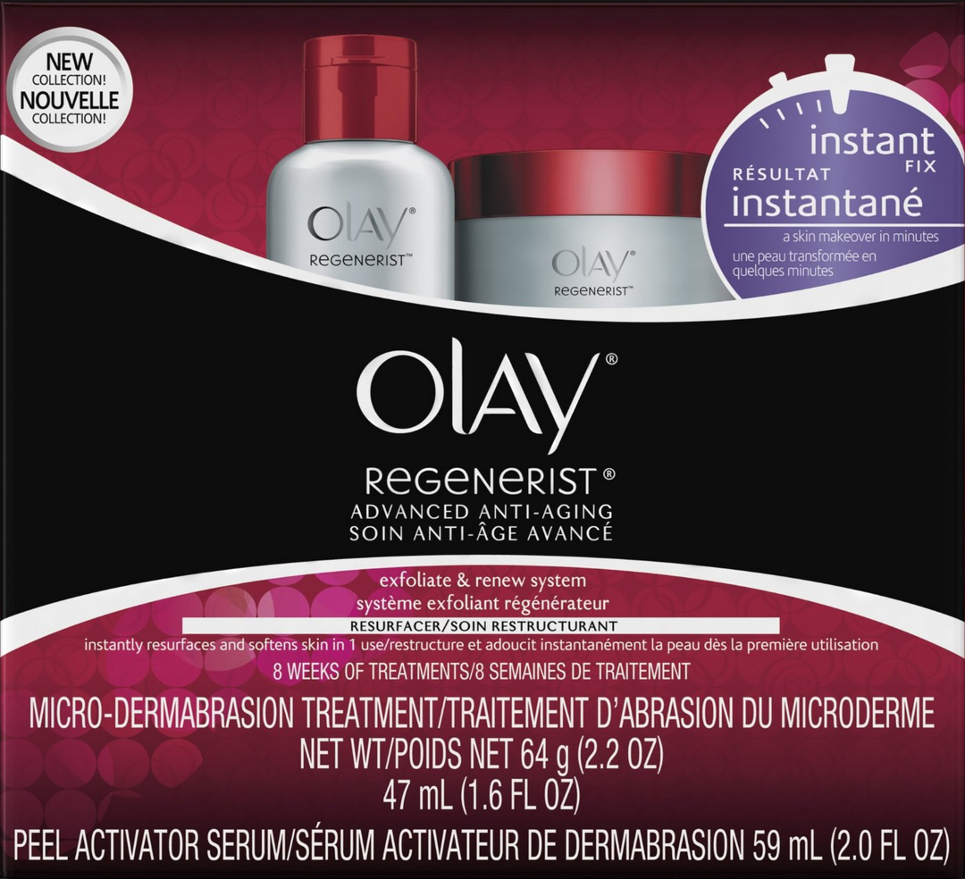 Olay Regenerist Microdermabrasion and Peel System Kit for just $12.38 Shipped!