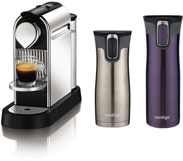40% Off Espresso Makers and Contigo Mugs = HUGE Deal on Nespresso Espresso Maker
