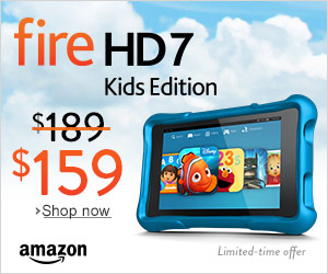 All-New Kindle Fire HD Kids Edition $30 Off – Includes 5,000 Books, Movies, and More!