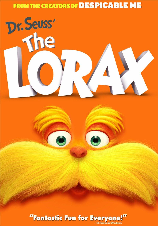 Dr. Seuss' The Lorax DVD Only $3.99 (Reg. $14.99!)