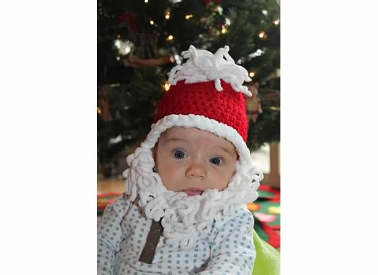 8 christmas gifts for new parents 1 adorable baby video santa hat and beard