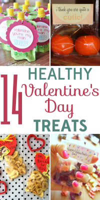 Valentine's Day doesn't need a major sugar rush to be sweet! Check out these 14 healthy Valentine's Day treats!