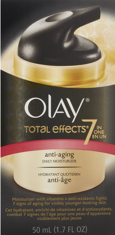 Olay Total Effects 7-In-1 Anti-Aging Daily Moisturizer Only $10.39 (Reg. $17.99!)