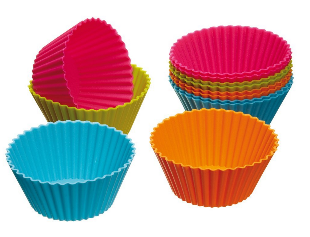Silicone Cupcake Cases 12-Ct. Only $3.60 Shipped – #1 Amazon Best Seller!
