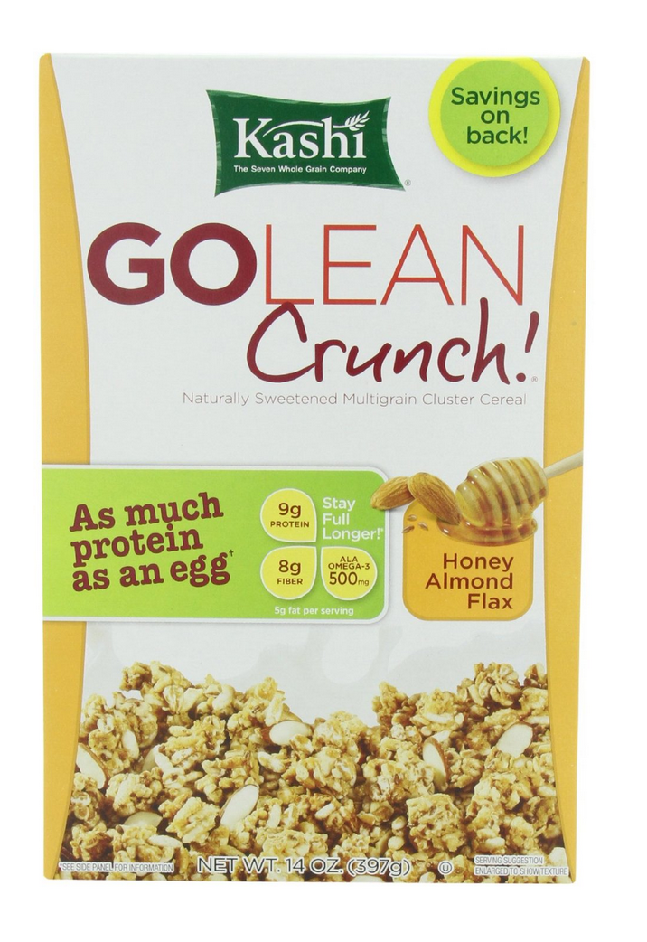 4 Boxes of Kashi GOLEAN Crunch! Cereal Only $7.46 Shipped – Just $1.46 Each!