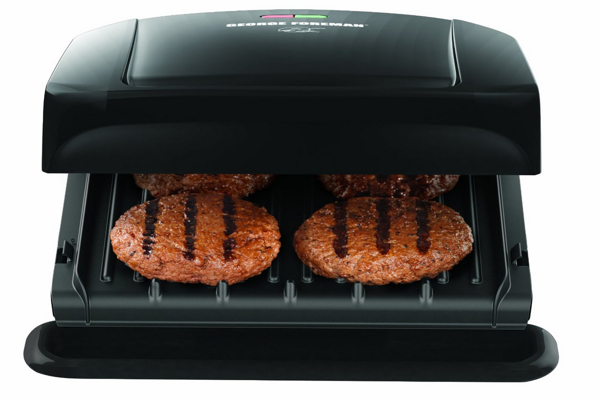 George Foreman 4 Serving Removable Plate Grill Only $29.92 – Lowest Price!