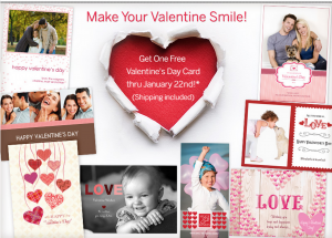 Score a FREE Valentines Day card today!