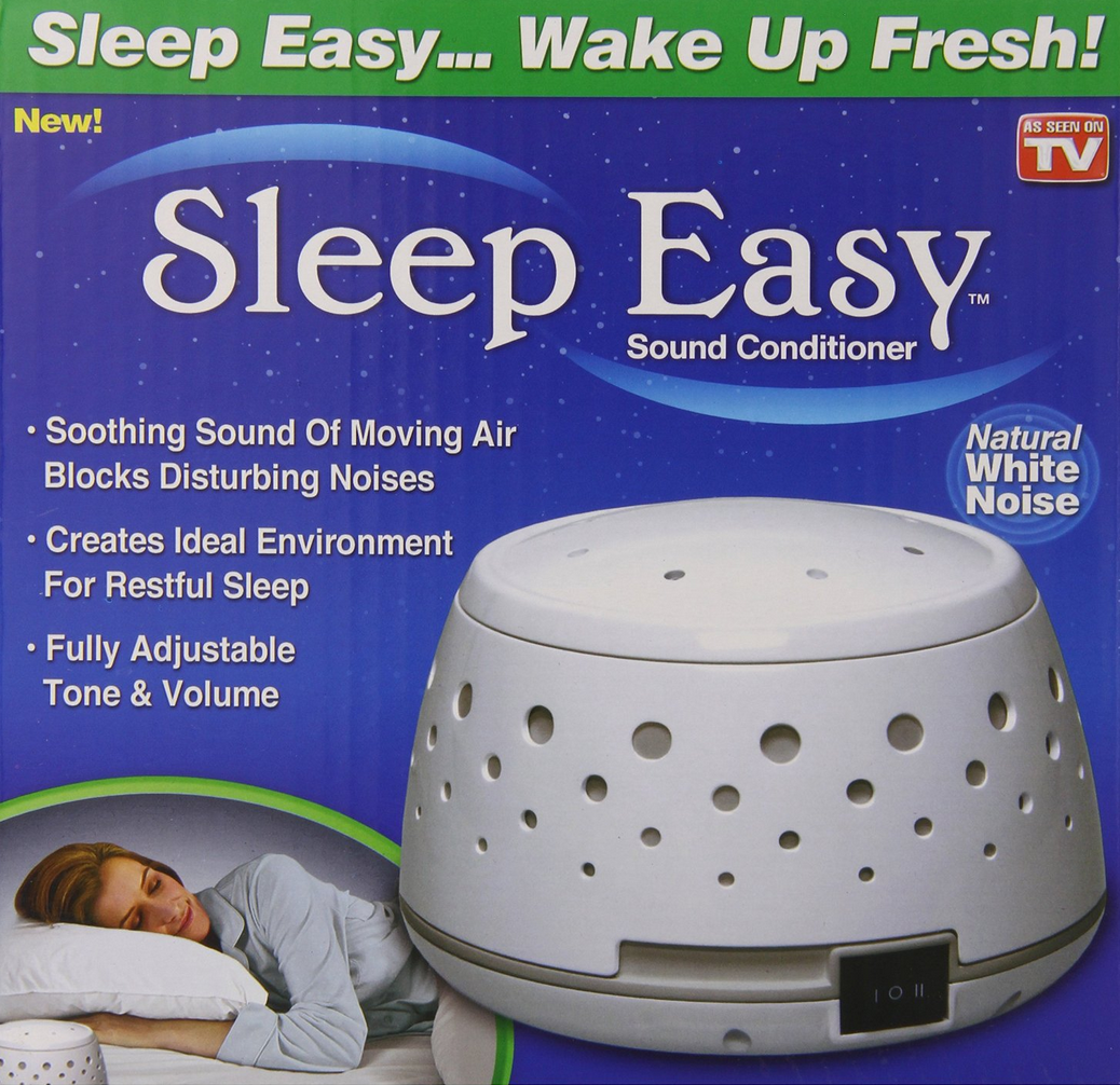 Sleep Easy White Noise Machine Only 15 03