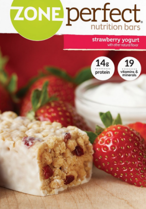 12-Ct. Pack Of Strawberry Yogurt ZonePerfect Nutrition Bars Only $7.76 (Reg. $15.48!) – Just  65¢ Per Bar!