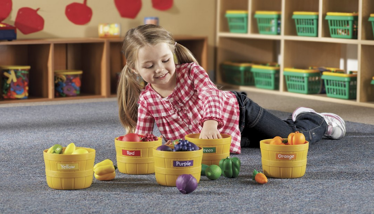 HOT! Learning Resources Farmers Market Color Sorting Set Only $19.63 (Reg. $39.99!)