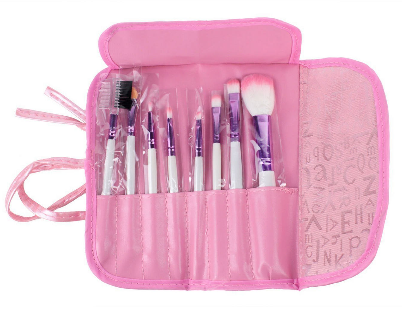 8-pc Professional Cosmetic Makeup Brush Set Only $3.14 + FREE Shipping!